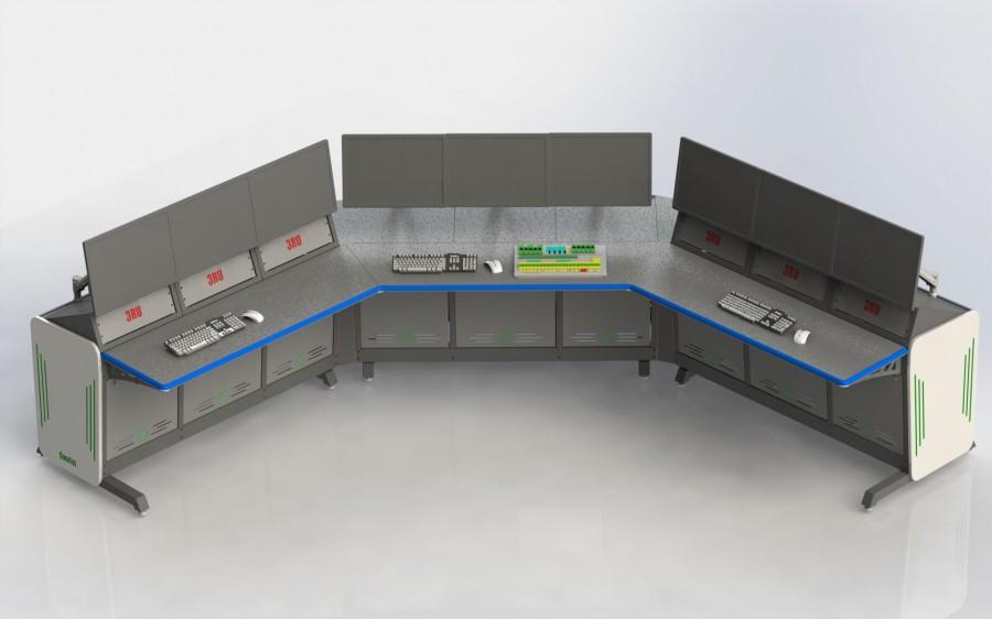 Технологічні меблі. Серія Сontrol Room