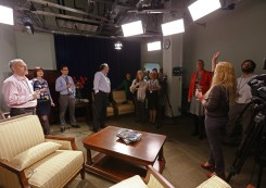 Нова студія медіацентру посольства США в Україні