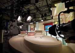 """Нова велика студія телеканалу """"СІТІ"""""""