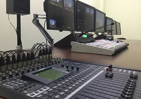 Large multipurpose studio channel NTS, Kyrgyzstan