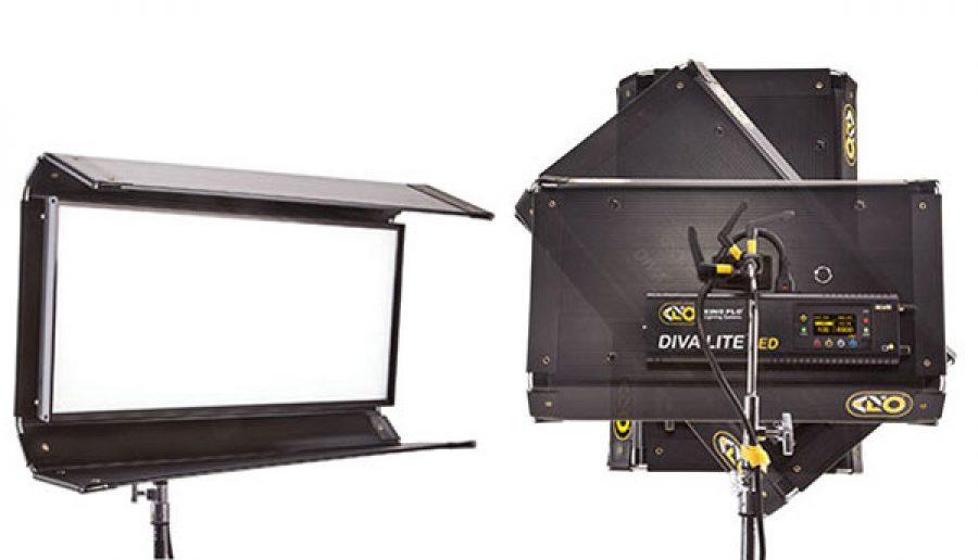 Осветительные новинки от Kino Flo –  Diva-Lite LED 20/30 DMX