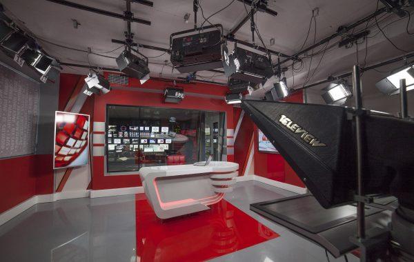 """""""5 канал"""". Модернізація апаратної і студії новин."""