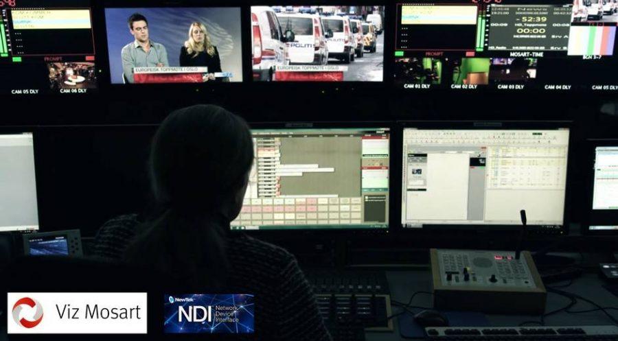 NewTek и Vizrt объявляют о совместном сотрудничестве по организации новостных студий на основе IP протокола.