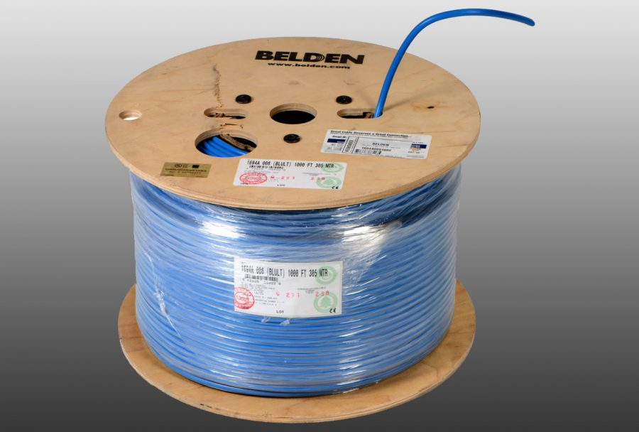 Belden 1694A – industry standard among the coaxial cables in the broadcasting world.
