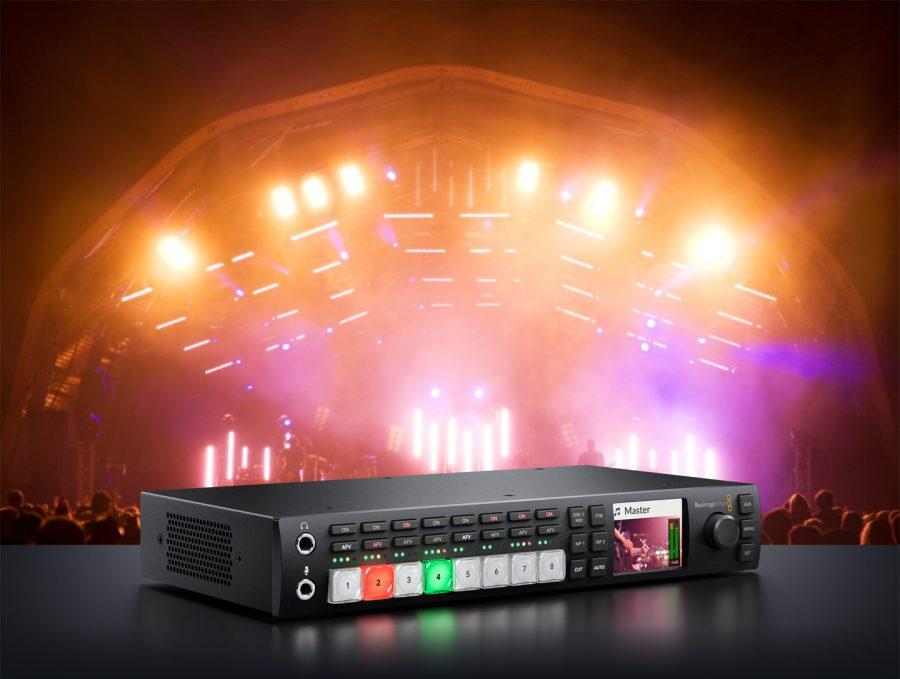 ATEM Television Studio HD и Pro HD – видеомикшеры от Blackmagic Design
