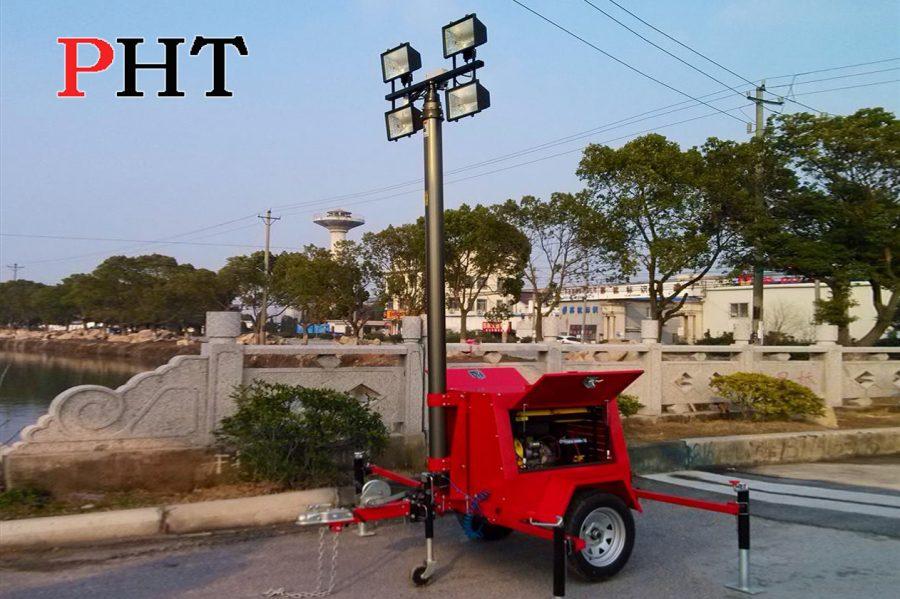 Пневмо-телескопічні щогли PHT