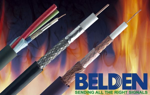 Coaxial cables and BNC connectors Belden Brilliance