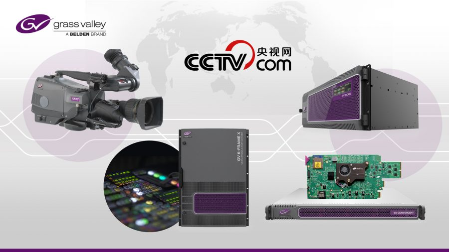 CCTV, the predominant state television broadcaster of China, with more than one billion viewers, has selected Grass Valley, a Belden Brand, to transition to 4K UHD.