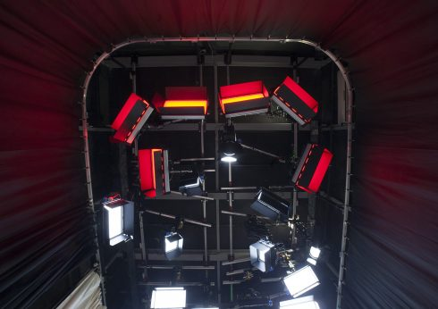 Реконструкция студийного павильона для UATV