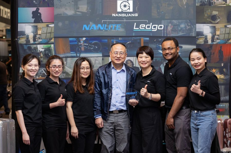 "New LED panel Ledgo Dyno 600C – the winner of NAB Awards 2019 in the category ""Best RGB light""!"