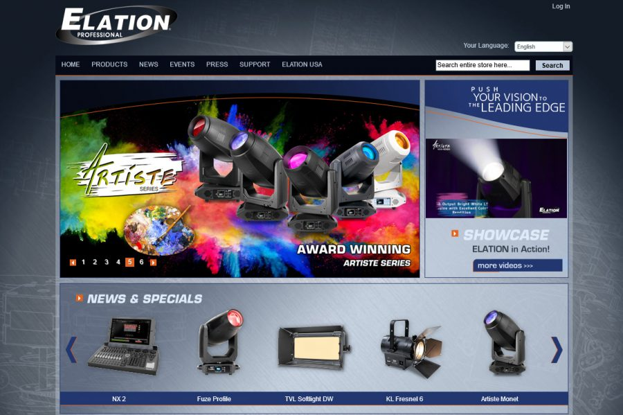 Comtel is now an installation partner of Elation Professional
