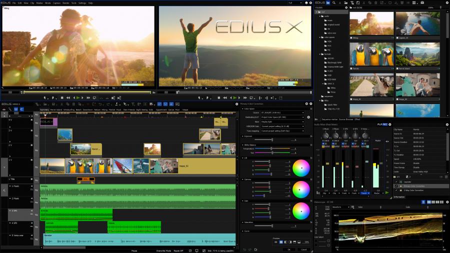 EDIUS X Version 10.10 released